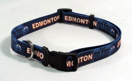NHL Edmonton Oilers Adjustable Pet Collar, Team Color, X-Large