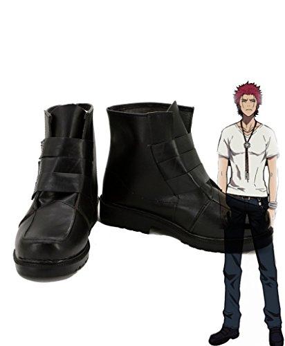 K Anime Suoh Mikoto Cosplay Zapatos Botas Por Encargo