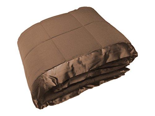 Cozy Fleece Alternative Blanket Satin