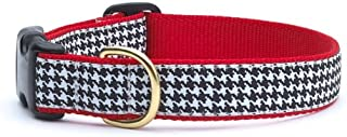 product image for Up Country Houndstooth Pattern Dog Collar, X-Large (18 To 24 Inches) 1 Inch Wide Width