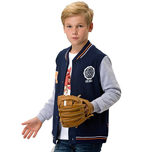 Leo&Lily Boys' Casual Sport Baseball Jacket Blazer Sweatshir