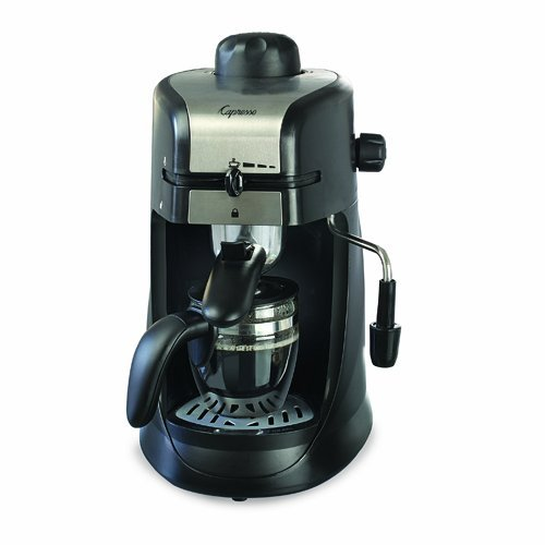 Capresso 303.01 4-Cup Espresso and Cappuccino Machine (Chrome) (Pump Espresso Machine)