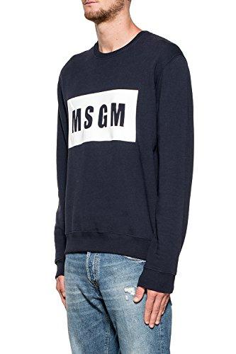 MSGM - Sweat-shirt - Homme bleu bleu