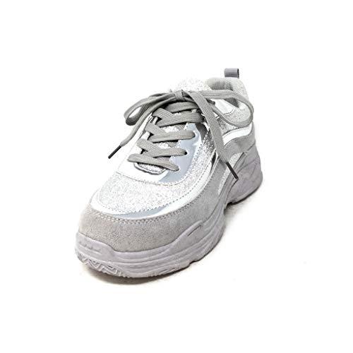 Bottines Compensées Bottes Plat À 4 Argent femmes Angkorly Cm Talon Aux Chaussures Pinceaux RwnSqSgXd