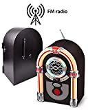 UEME Retro Tabletop Jukebox with CD