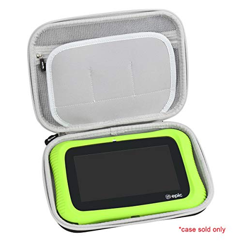 Aproca Hard Travel Storage Case Compatible Leapfrog Epic Academy Edition (Black)