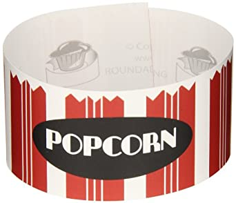Roundabouts Cupcake Sleeves Popcorn Tub Cupcake Sleeve (Pack of 24)