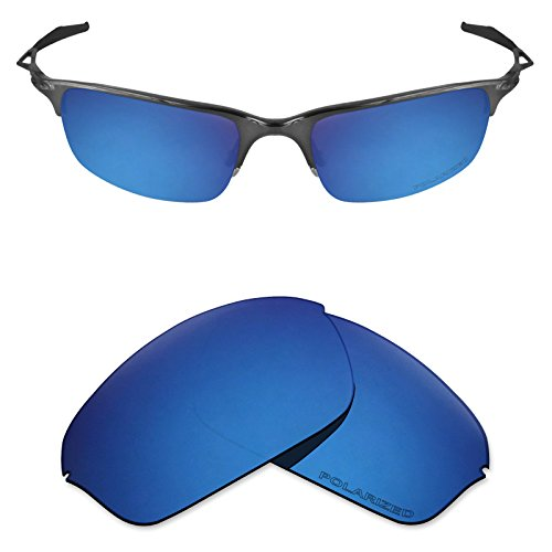 lacement Lenses for Oakley Half Wire 2.0 - Pacific Blue ()