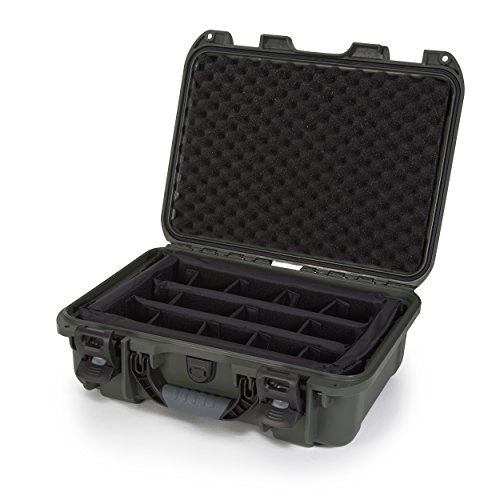 Nanuk 920 Waterproof Hard Case with Padded Dividers - Olive by Nanuk