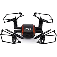Flymemo GTeng T901F 5.8Ghz 4CH 6Axis Gyro 2MP 720P Camera FPV RC Quadrocopter RTF Drone One Key Automatic Return Black