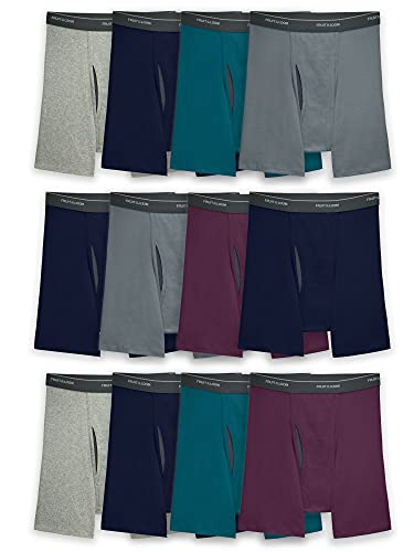 Fruit of the Loom Men's Coolzone Boxer Briefs, 12