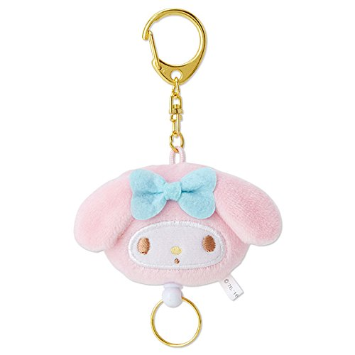 Sanrio My Melody mascot cord reel Keychain From Japan New (Mascot Uniforms)