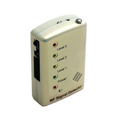 Mini Gadgets RF Signal Bug Detector with Analog/Digital Switch and LED Indicator [並行輸入品] B01KBR7YP0