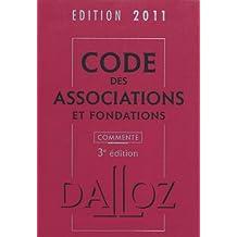 CODE DES ASSOCIATIONS ET FONDATIONS COMMENTÉ 2011