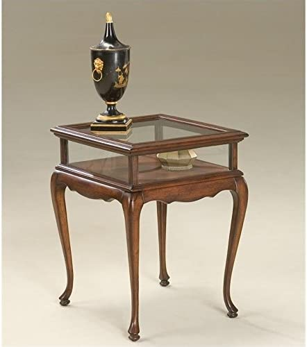 Beaumont Lane Curio Table in Cherry