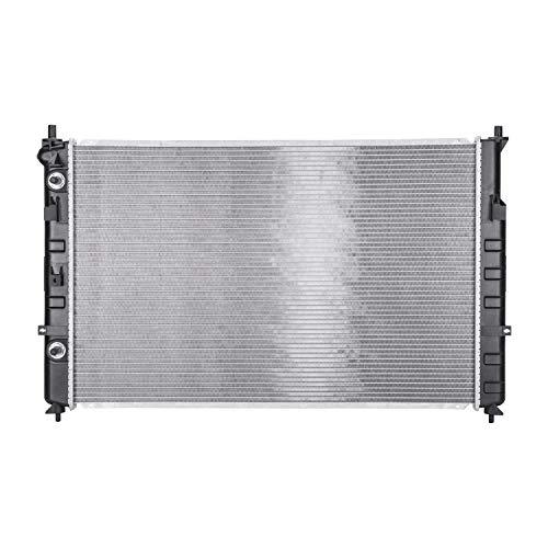 (INSTEN 2456 Compatible with 02-05 Mazda MPV (Van) Mazda MPV 1-Row Plastic Aluminum Replacement Radiator by TYC)