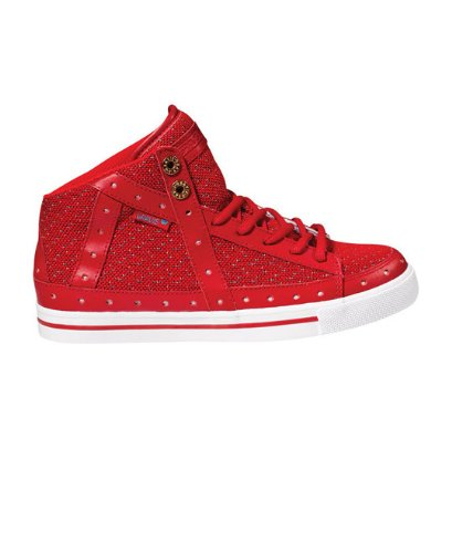 Gemini Hi Skate Shoes Chinese Red Womens