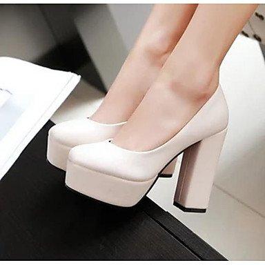 Printemps Noir Talons LvYuan Beige 7 à Chaussures Femme Brun 5 black 9 Confort Confort 5 ggx Polyuréthane Foncé à Décontracté cm wqqv0IFW