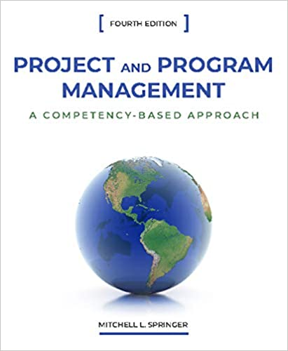 Project and Program Management: A Competency-Based Approach