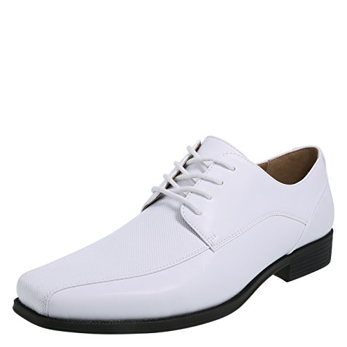 Dexter White Men's Zeke Perforated Oxfords 13 (Perforated Oxford Shoes)