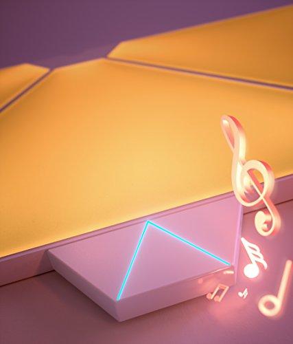 Nanoleaf NL28-20XXTW-ACC Rhythm Music Add-on Module Home Kit for Light Panels, White