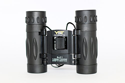 Binoculars 8x21 YST PRODUCTS - kids binoculars for birds watching - compact binoculars for adults - children's binoculars - lightweight binoculars for traveling - small boys & girls binoculars