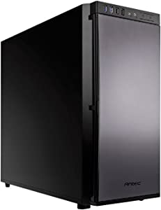 Antec Performance Series P100 Mid-Tower Silence PC Computer Case with 9 Tool-Free Drive Bays, USB 3.0/2.0, Rear Water Cooling, 120/140mm Fan and CPU Cutout ATX/M-ATX/Mini-ITX Support