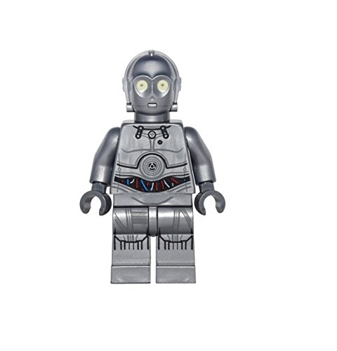 [LEGO Star Wars Advent Minifigure - C-3PO Droid Silver (75146)] (C3po Mask)