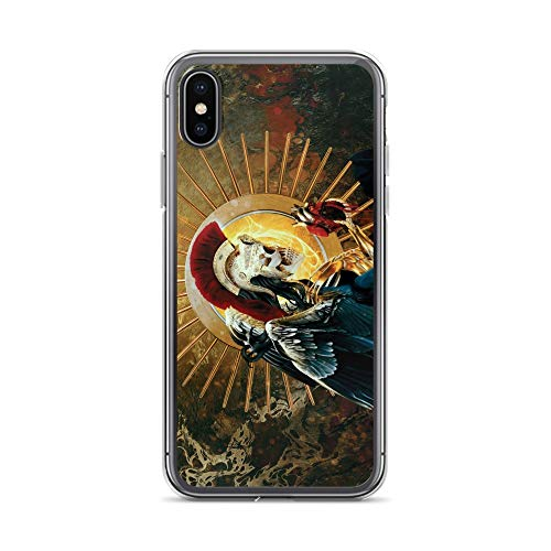 iPhone X/XS Case Anti-Scratch Phantasy Imagination Transparent Cases Cover Skeleton Fantasy Dream Crystal Clear -