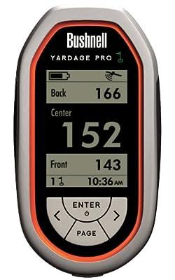 Bushnell Yardage Pro Golf GPS Unit (Orange/Black, Model 368100)
