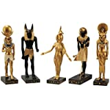 Design Toscano 5-Piece Gods of the Egyptian Realm Statue Set