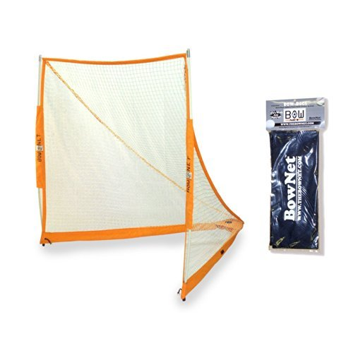 BowNet Portable Practice Lacrosse Goal with Bownet Sand Bags by Bownet (Image #3)