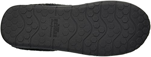 Dearfoams Clog Men's Microsuede Black Whipstitch with Slipper 1w70Fq