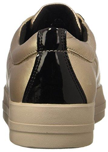 para B Geox Gold Champagnecb500 Mujer D Zapatillas Hidence rqq7YwEnpI