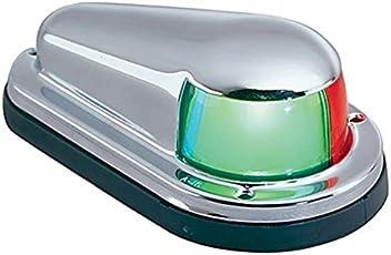 Perko 965DPCHR Chrome Brass Horizontal Mount Stern Light