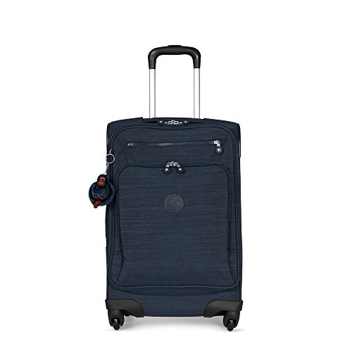 Kipling Youri Spin 55 Small Luggage True Dazz Navy - Kipling Carry On Luggage