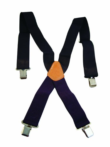 Bon 84-424 Work Suspenders, Navy Blue