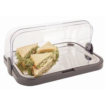 Bandeja refrigeradora con tapa móvil