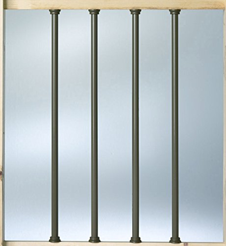 Deckorators Aluminum 26'' Balusters - Bronze - 50 Pack (Deckorators DB52653) by Deckorators