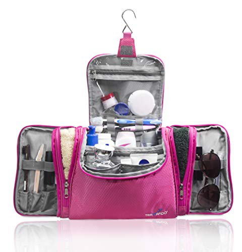 fa184a03926a TRAVANDO XXL Toiletry Bag for Women MAXI  with Hanging Hook - Large ...