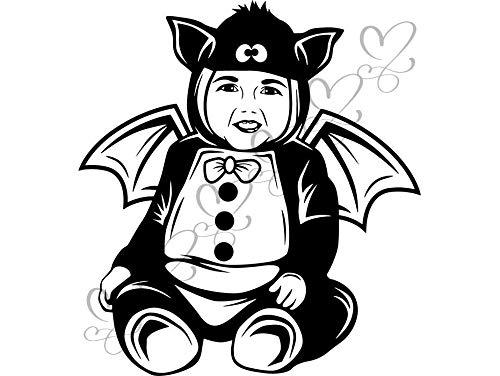 Yetta Quiller Cute Baby Boy Batman Halloween Custom