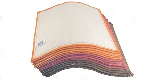 (DOC Wood Fiber Cleaning Cloths, 3 Color Pack, 5-piece Set by Doc - Colors may vary)