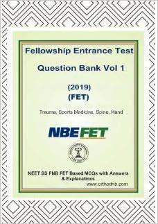 Buy FNB FET NEET SS Question bank Spine trauma Sports