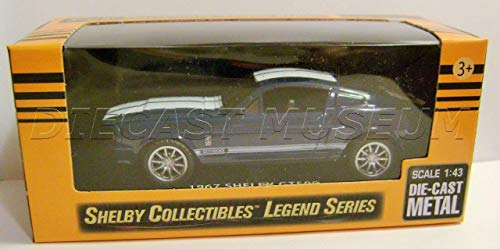1967 '67 Shelby GT500 Mustang Blue Shelby Collectibles Legend Series DIECAST ()