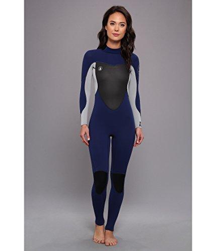 Body Glove Women's Method 2.0 Back Zip 3/2mm Fullsuit Navy Swimsuit 11/12 (5'7''-5'10'', 140-150 lbs) by Body Glove