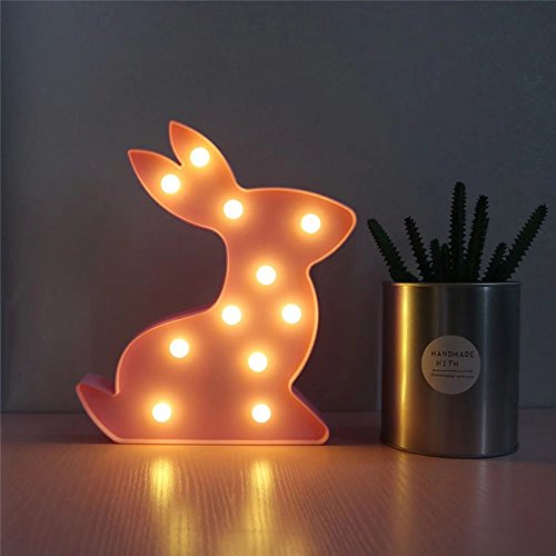 CSKB Rabbit Marquee LED Light, Wedding Light Birthday for sale  Delivered anywhere in USA
