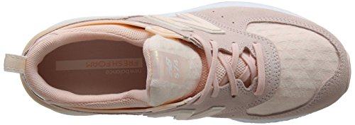 New Balance Ws574v1, Sneaker Donna Multicolore (Sunrise Glo)