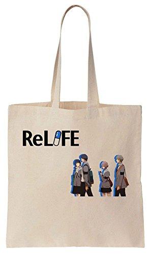 Algodón Artwork Bolsos School To de Going Bag High Reutilizables Tote de Characters Compras qfwx7FSn