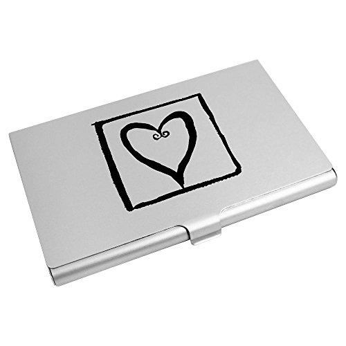 Card Wallet Business 'Heart Azeeda Credit Card Holder Square' CH00005653 xw07qE7Y
