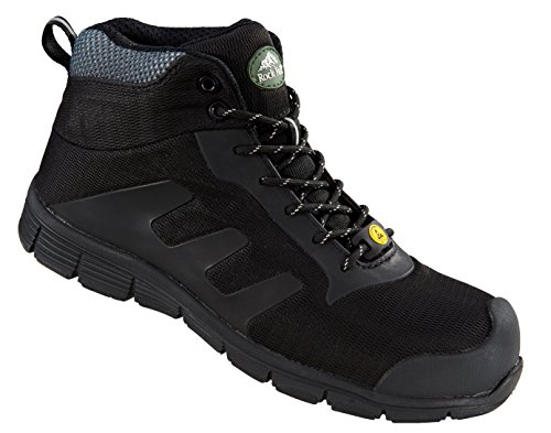 Rock Fall TeslaDri RF120 Vegan Friendly Black S3 ESD Composite Toe Safety Boots ...